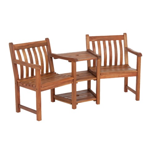 Cornis Companion Seat Set Wooden Bench