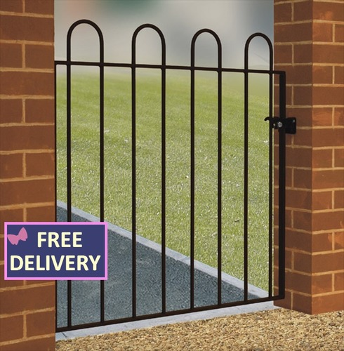 "Court Single Garden Gate 3ft 3"" Wide"