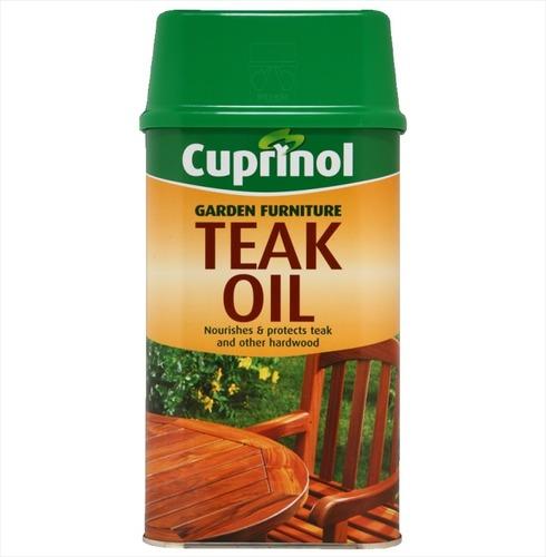 Cuprinol Teak and Hardwood Garden Furniture Oil - 1ltr