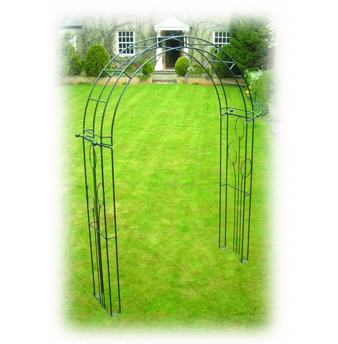 Flower Garden Rose Arch - Poppy Forge - 13mm Solid Bar Construction