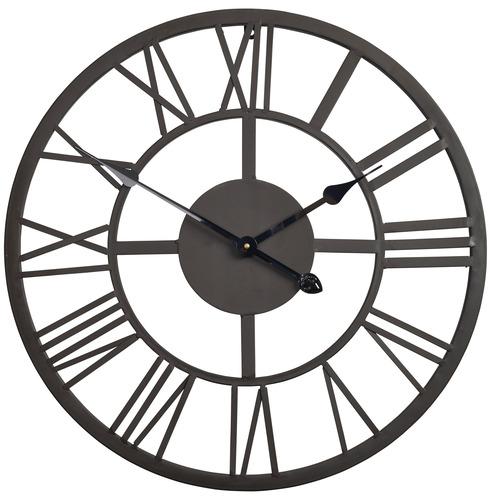 Giant Metal Roman Numberal Garden Clock 56cm