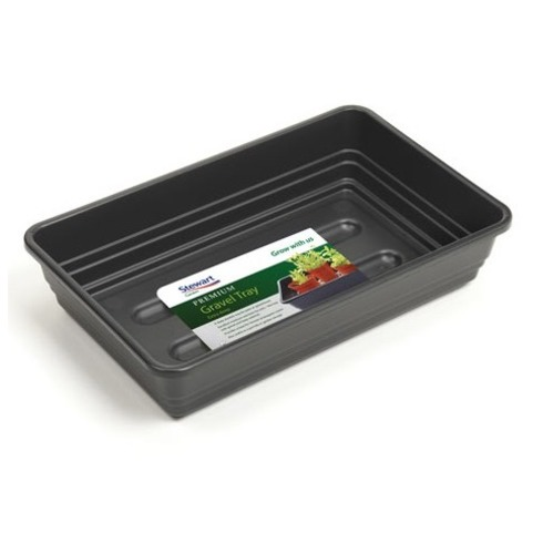 Gravel Tray - Stewart 22cm Premium Gravel Tray Extra Deep - Black