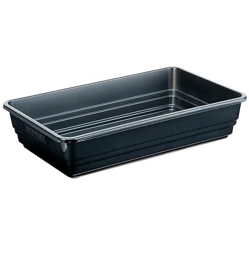 Gravel Tray - Stewart 38cm Premium Gravel Tray Extra Deep - Black