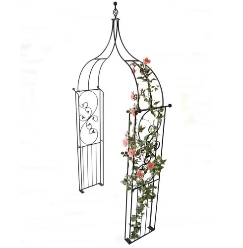 Imperial Ogee Garden Rose Arch - Poppy Forge - 13mm Solid Bar Construction