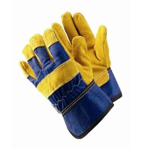 Kids Rigger Gardening Gloves - 4-7 yrs - Blue - Briers