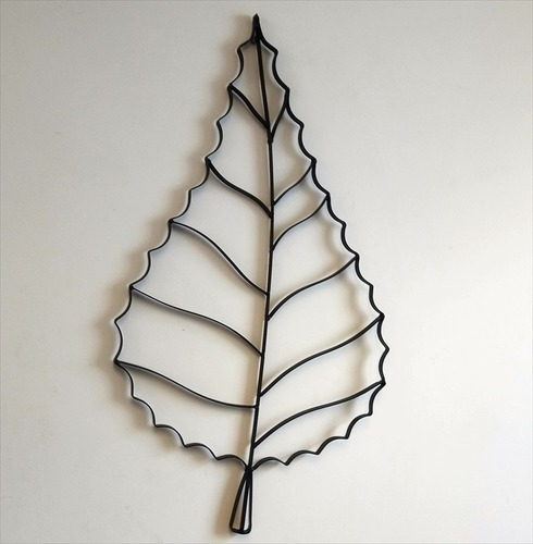 Leaf Metal Wall Art Decoration