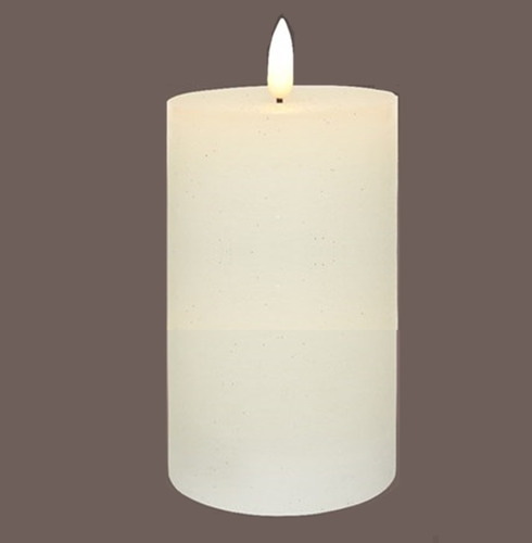 Wax LED Battery Candle - 17.5cm