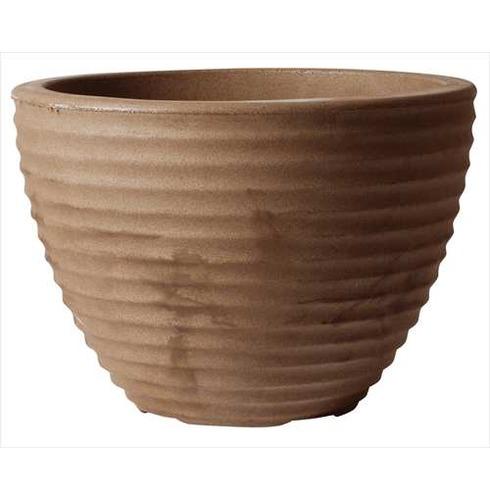Low Honey Pot Planter 50cm CHOCOLATE - Lightweight