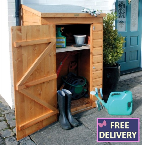 Wooden Mini Store Tool Shed
