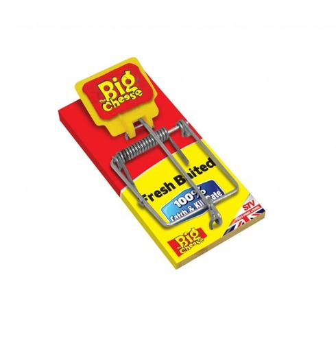 The Big Cheese Traditional Fresh Baited Mouse Trap
