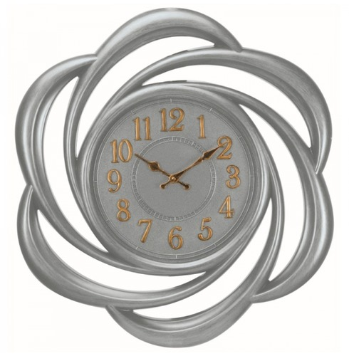 Lattice Clock - Large Clock Swirl Design - 61cm