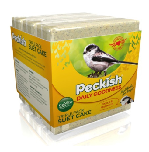 Suet Cake Triple Pack Peckish Daily Goodness - 3 x 300g