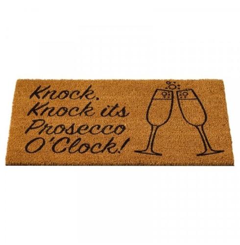 Prosecco O'clock Doormat - 45x75cm