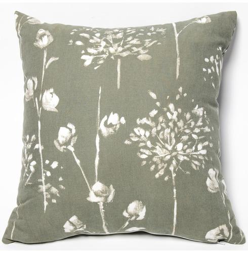 """Garden Furniture Scatter Cushion in Renaissance Grey 18"""" x 18"""""""