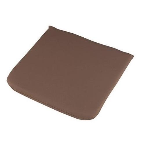 Garden Furniture Seat Cushion Pad in Chocolate 40cm x 40cm