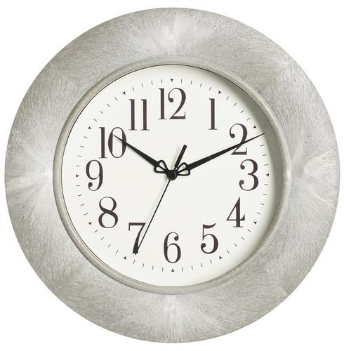 Shipton Garden Wall Clock - Grey Marble Effect