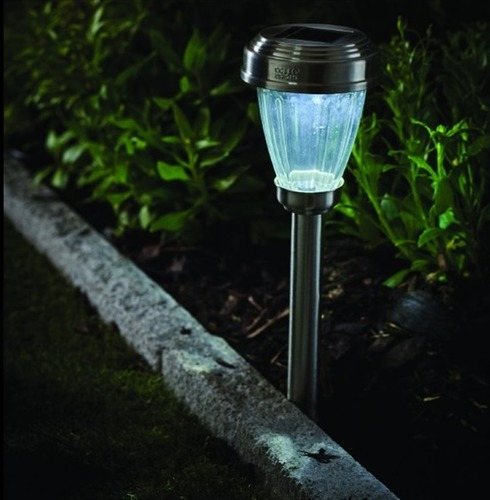 Stainless Steel Marker Solar Light - Cole and Bright