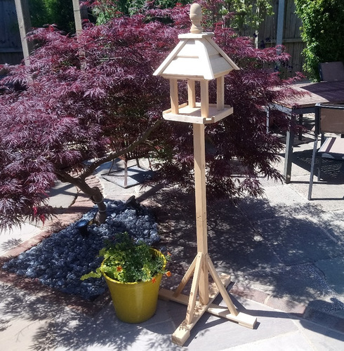 Supreme Bird Table - Wooden Bird Table and Stand