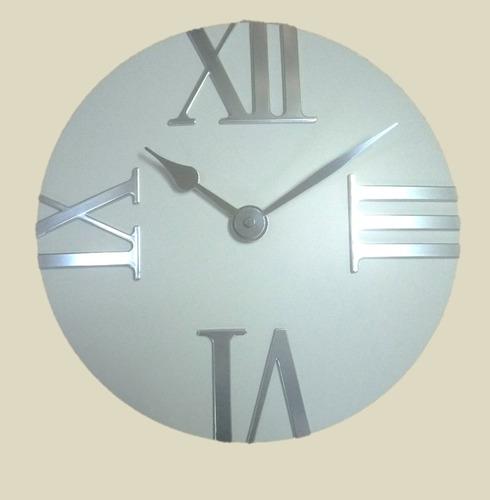 Warm Cream Tempus Outdoor Garden Clock - 30.5cm