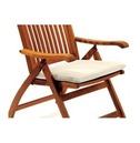 Garden Set of 2 Chair Pads - Natural