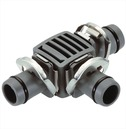 T Joint (pack 2) - Gardena 13mm Micro Irrigation Fitting