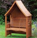 Goodwood Wooden Garden Arbour