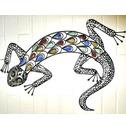 Wall Art Decoration - Lizard Very Decorative