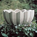 Monteith Stone Bowl - Garden Ornament from Chilstone