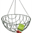 Traditional Wire Hanging Basket - Selection of Sizes