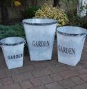Metal GARDEN Planter in a Range of Sizes