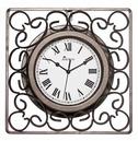 Kingsbury Scroll Garden Clock