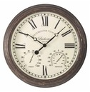 Bickerton Rustic Wall clock & Thermometer 38cm