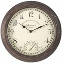 Bickerton Rustic Wall clock & Thermometer 30cm