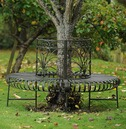 Lucton Circular 360 Metal Tree Seat - From The Lucton Range