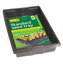 Seed Tray - Standard Seed Trays - 8 Trays for the Price of 5 - Black - Gardman