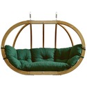 Globo Royal Pod Chair Swing Seat Only - Green - Amazonas Hammock
