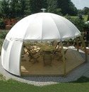 Nowy Targ Cream Igloo with Floor and 2 Side Panels