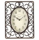 Harrogate Scroll Metal Inside or Outside Garden Clock
