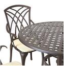 Cast Aluminium 5 Piece Garden Furniture Set - Charles Bentley