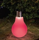 Large Eureka Omega Garden Glass Light Bulb - Solar Powered