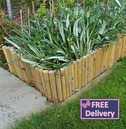Decorative Bamboo Edging - Classic Japanese Style Garden - 6 Pack