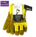 Thermal Rigger Gardening Gloves - X Large - Yellow - Briers