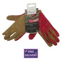 """Profession """"Elle"""" Pink Gardening Gloves - Medium - Briers"""