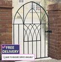 Abbey Low Bow Top Garden Gate