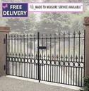 Balmoral Low Double Driveway Gates