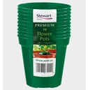 "Flower Pot Green - 3"", 4"", 5"",6"", 7"", 8"", 10"" or 12"" - Size Options"