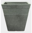 Piazza Square Patio Tub Planter Pot 34cm or 40cm - Marbled Green