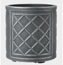 Lead Effect Round Patio Planter Pot - Different Size Options