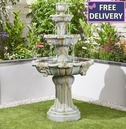 Lioness Fountain Water Feature - Lion Head Design