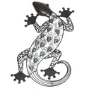 Lizard Wall Art With Glow In The Dark Beads